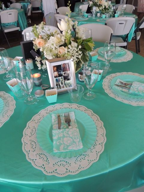blue baby showers bridal shower party baby shower parties tiffany blue