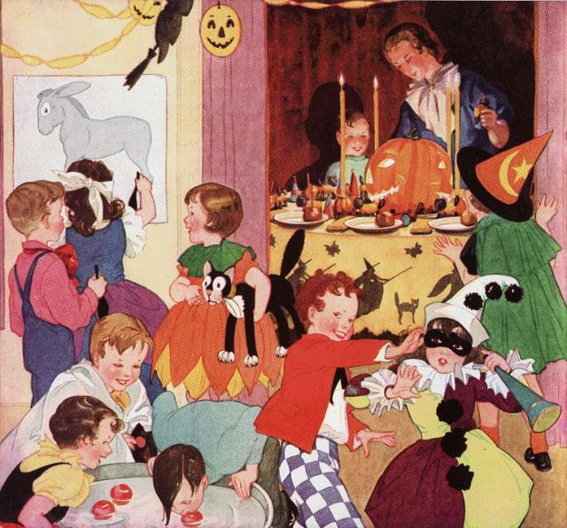 Halloween Party 1946