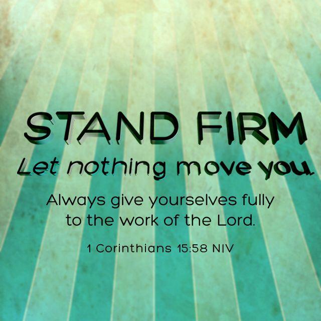 1 Cor 15:58