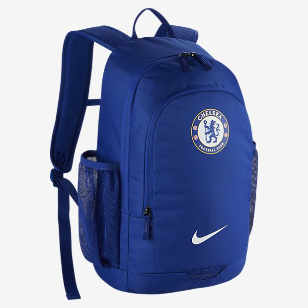 7917da28f629 Nike NK Chelsea FC Stadium CFC Backpack Soccer Football Gym Blue BA5494-495   Nike  Backpack