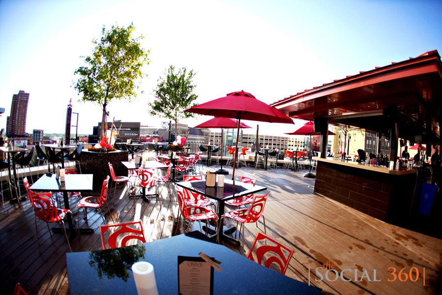 Rooftop Dining At Crave Down Town Minneapolis Rooftop Restaurant Rooftop Dining Sushi Bar
