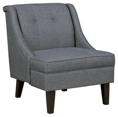Best Calion Accent Chair By Ashley Homestore Tan Polyester 400 x 300