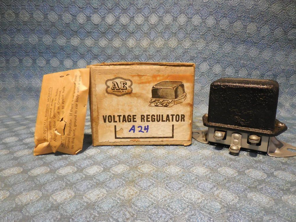 1938 1939 Dodge Plymouth Fargo Nors Voltage Regulator Vrd 4002 B See Ad Voltage Regulator Plymouth Dodge