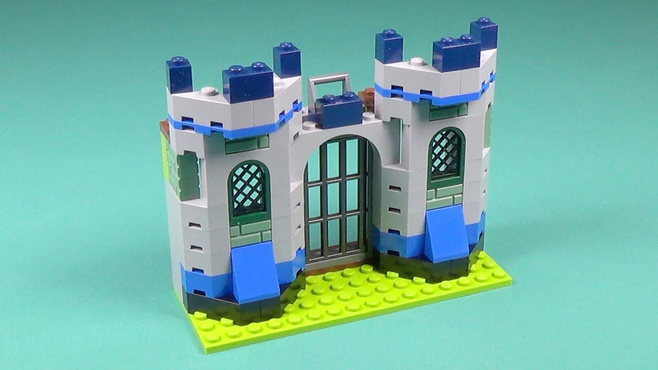 Lego Knights' Castle Building Instructions - Lego Classic