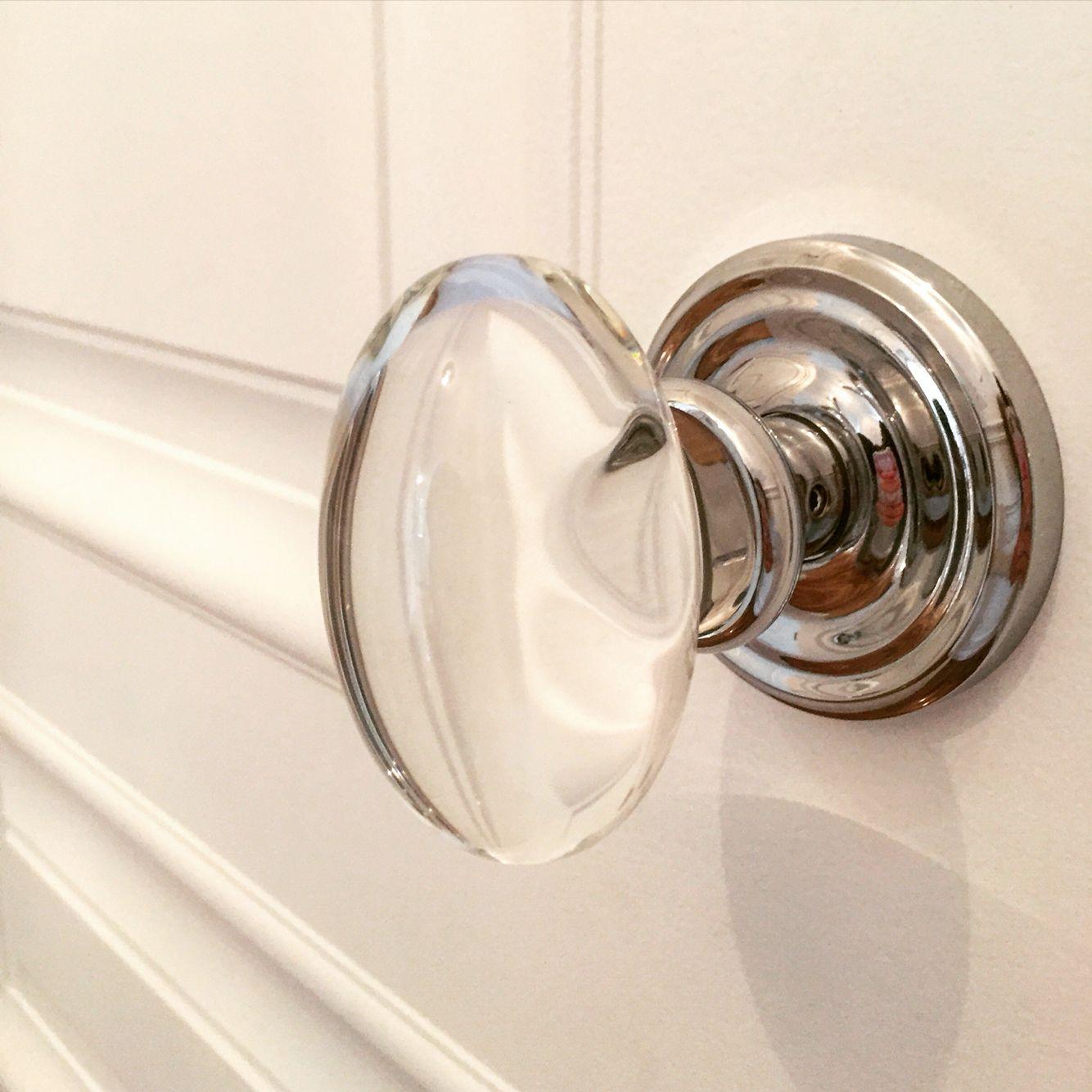 Glass Egg Shaped Door Handle Door Handles, Door Knobs, Egg Shape, Home  Hardware