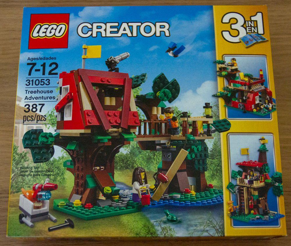 Brand New Lego Creator 3 In 1 Treehouse Adventures 31053 Free Shipping Lego Creator Sets Lego Creator Lego