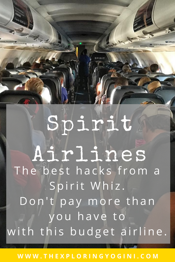 How to Fly with Spirit Airlines Tips From A Pro Spirit