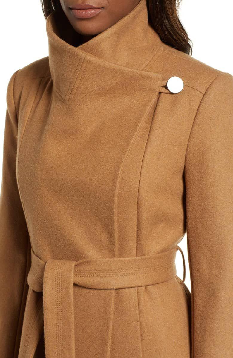 5d98a32a0c0d Fencer Melton Wool Maxi Coat