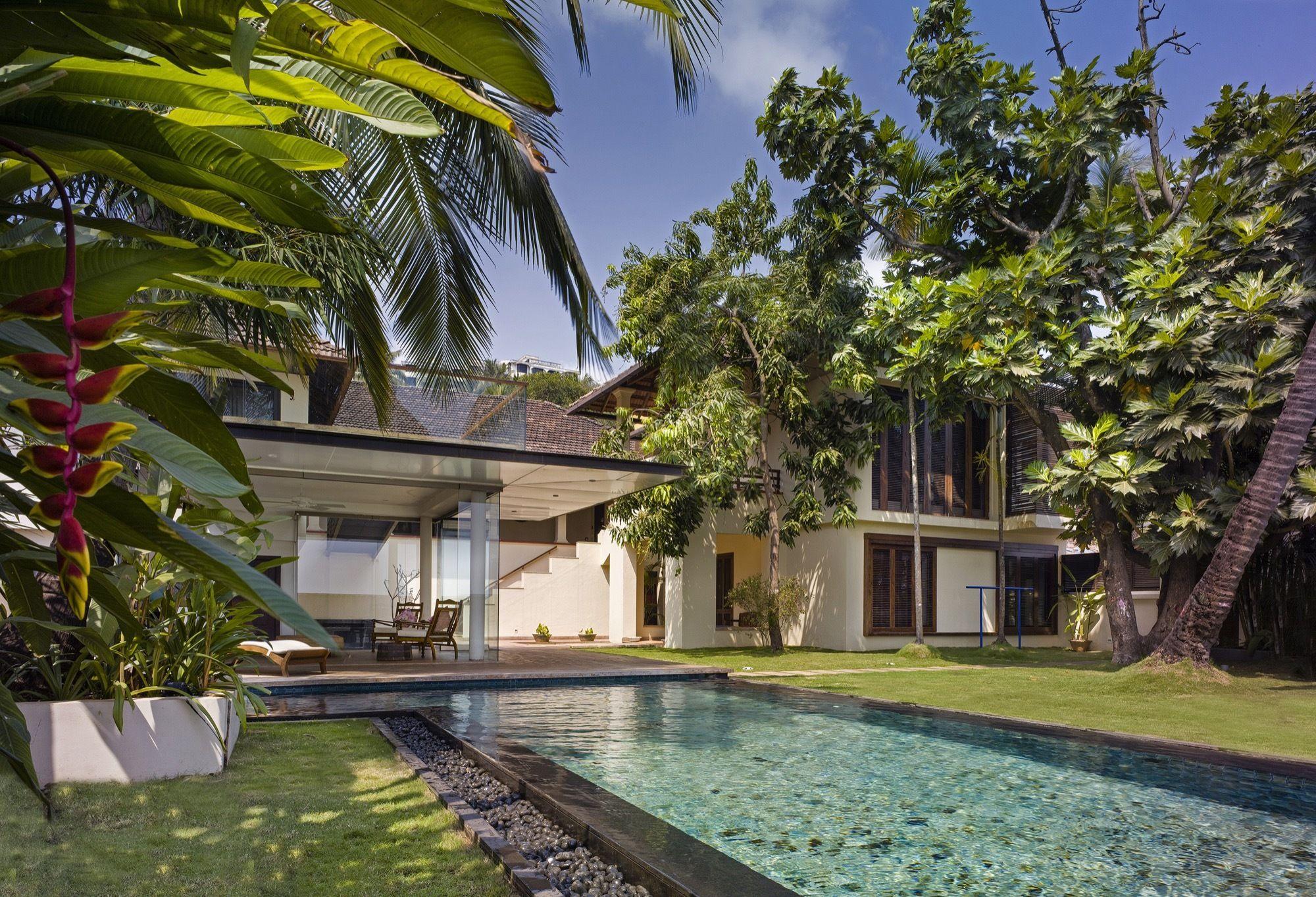 Villa Ribander / Raya Shankhwalker Architects (Dengan gambar)