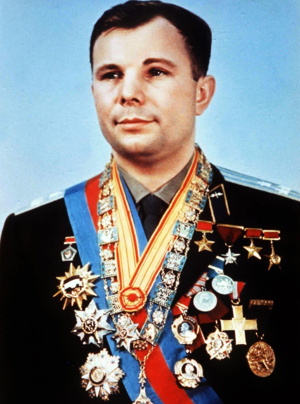 Cosmonaut Yuri Gagarin: a selection of sites