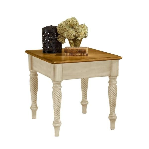Best Hillsdale Furniture Wilshire Antique White End Table 4508 640 x 480