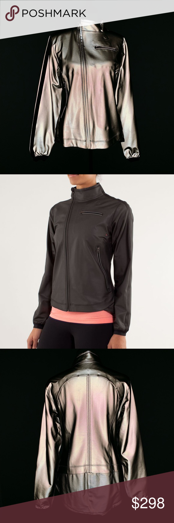 •new• Rare LULULEMON Run Reflective Jacket Reflective