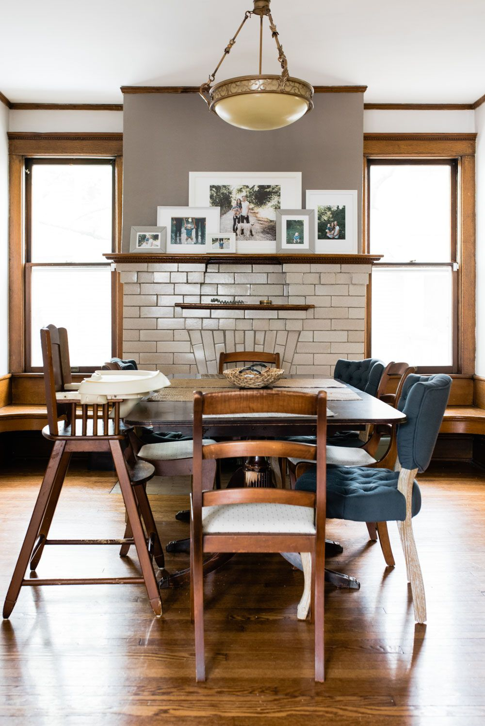 Eclectic Meets Minimal In A Craftsman Charmer Des Moines Ia Design Sponge