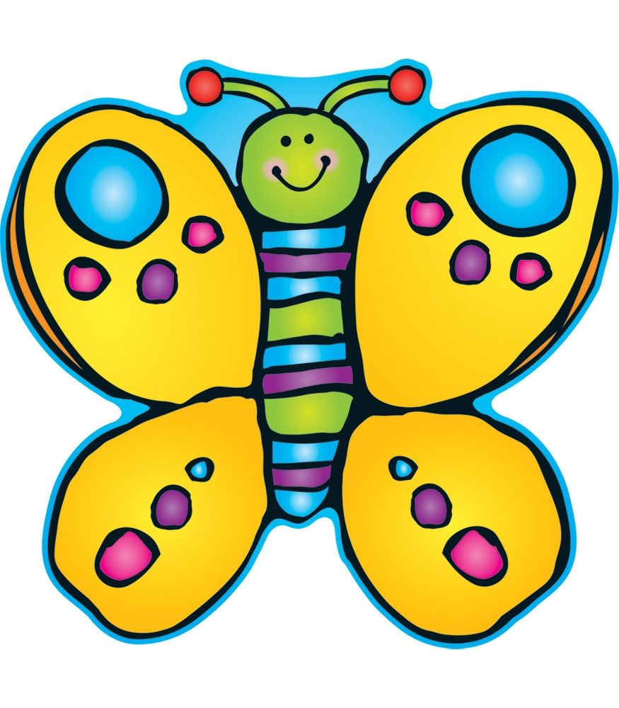 Butterfly Classroom Decorations ~ Butterfly two sided decoration perfect for