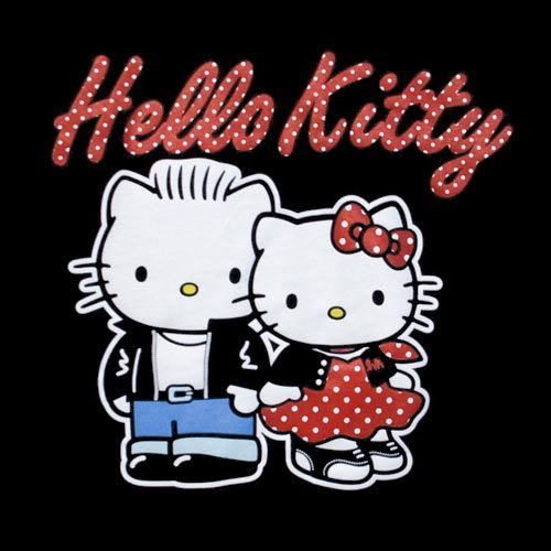 d4e5aef72 Hello Kitty rockabilly 1950s couple | Everything and Anything HELLO ...
