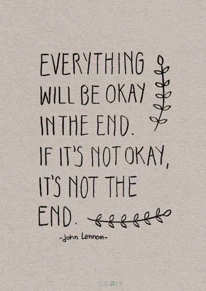 Everything Will Be Ok Sprüche Tattoo Rücken Pinterest Poesia