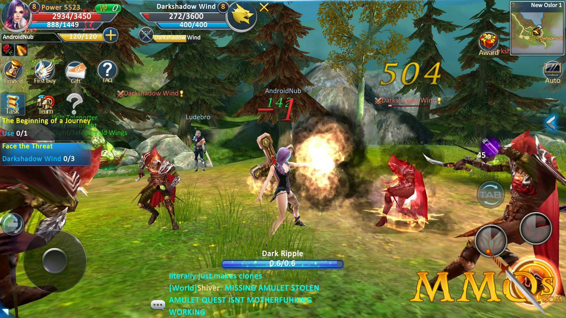 Best Mmo Android Games You Can Play For Free Roleplaying Game