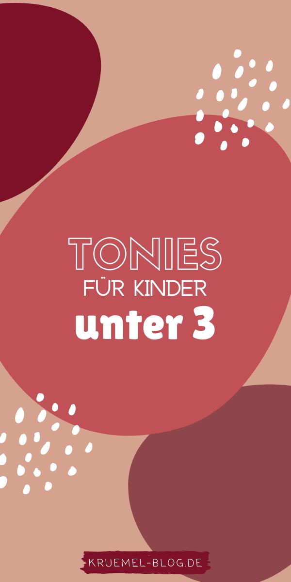 Meine Empfehlung: Tonies für Kinder von 1 – 3 Jahren