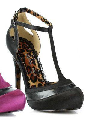 Ellie Shoes BP517-Gypsy Black