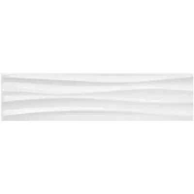 Anatolia Tile Hudson Brilliant Motion 4 In X 16 In Ceramic Wall Tile Common 4 In X 16 In Actual Ceramic Wall Tiles Wall Tiles Modern Master Bathroom Remodel