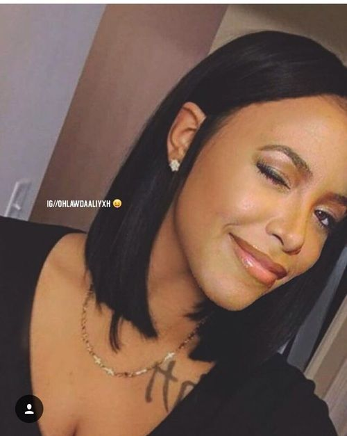 Aaliyah Hairstyle : aaliyah, hairstyle, Aaliyah,, Beautiful,, Beauty, Image, Aaliyah, Hair,