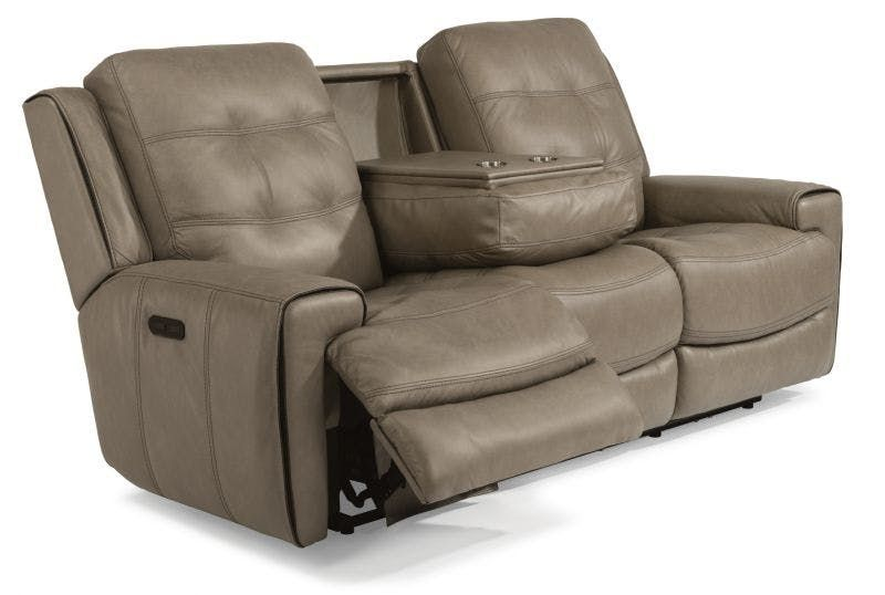 Strange Flexsteel Leather Reclining Sofa Sofas Leather Reclining Pdpeps Interior Chair Design Pdpepsorg