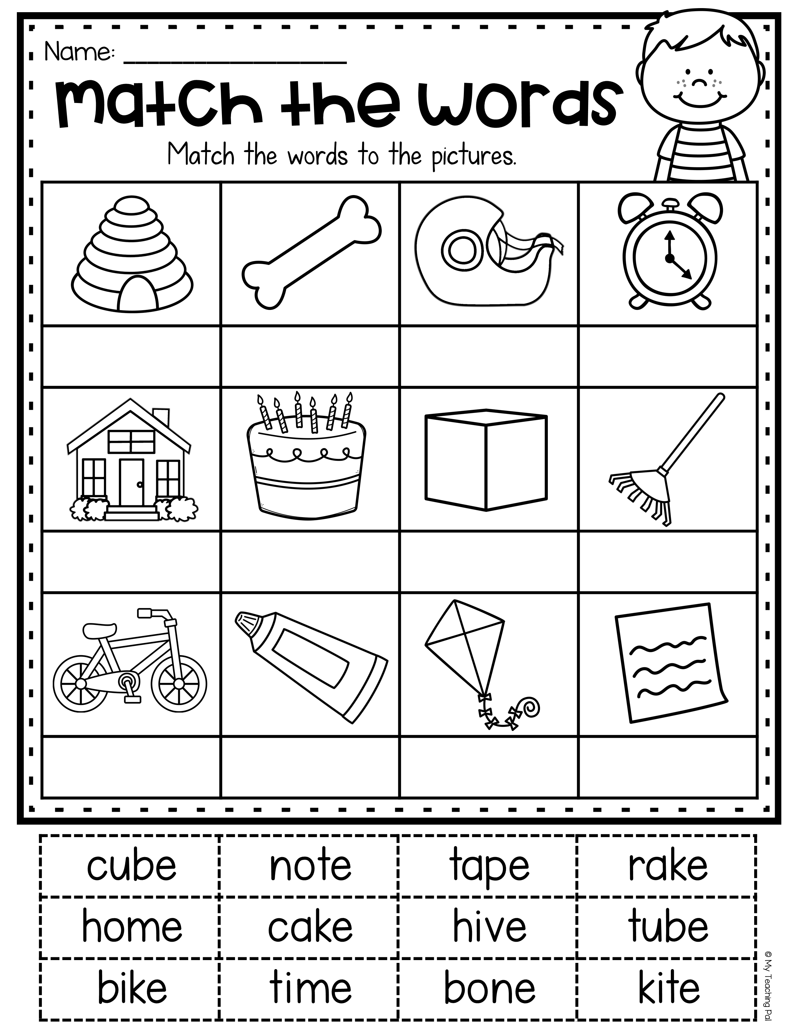 Magic E Worksheets And Centers