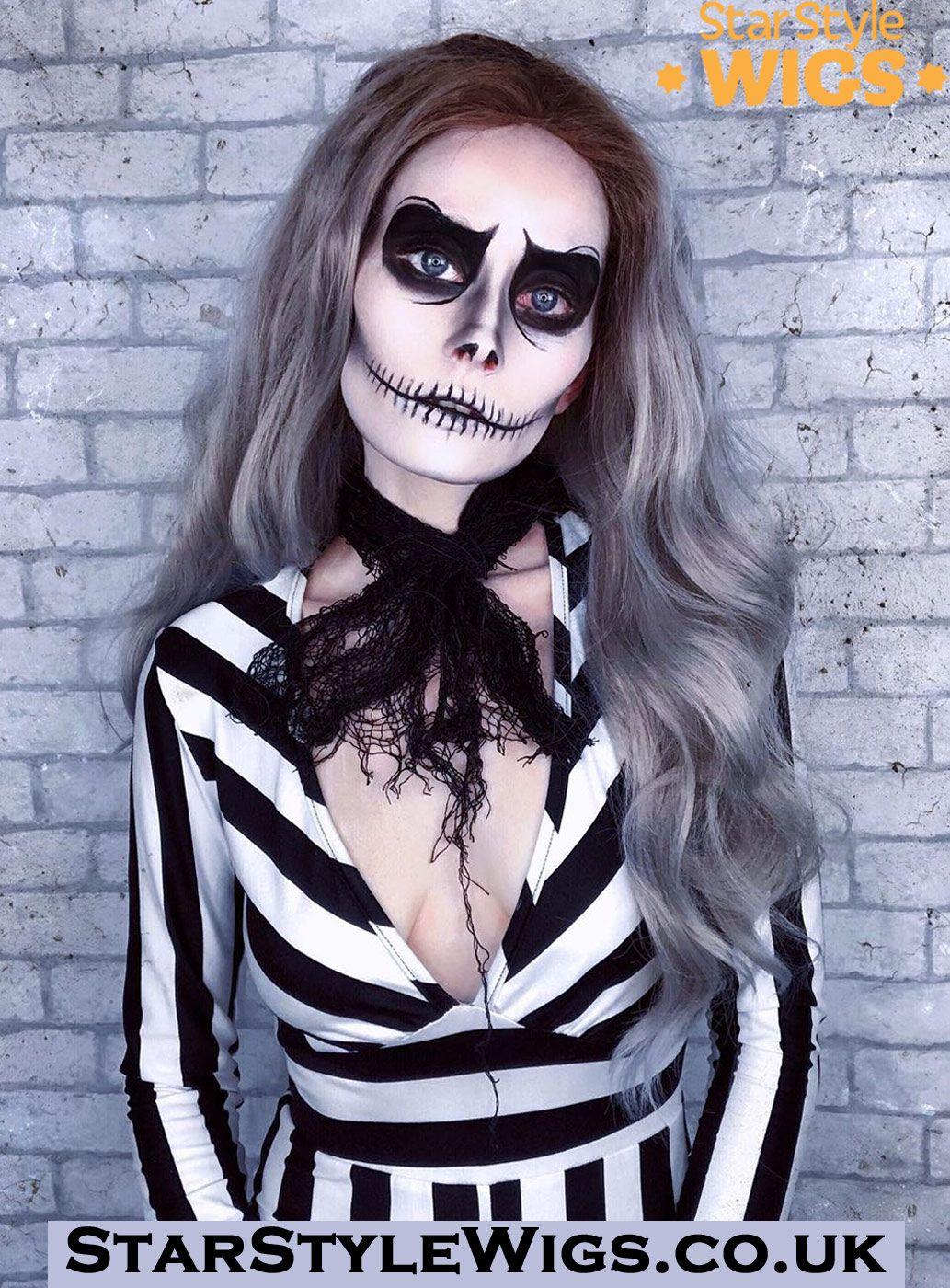Stargazer Lace Front Wig Jack skellington costume
