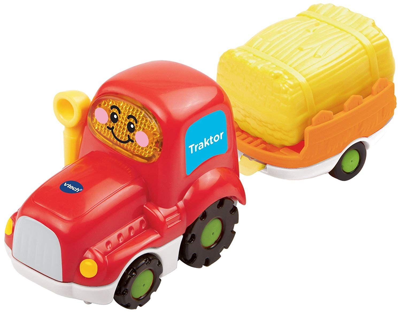 Vtech 80 152304 Tut Tut Baby Flitzer Traktor Und Anhanger Tut Tut Baby Flitzer Traktor Traktor Anhanger