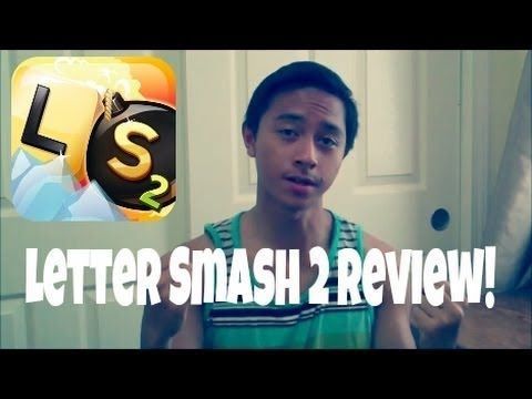 Letter Smash 2 Review! (Fun Brain Teaser!)