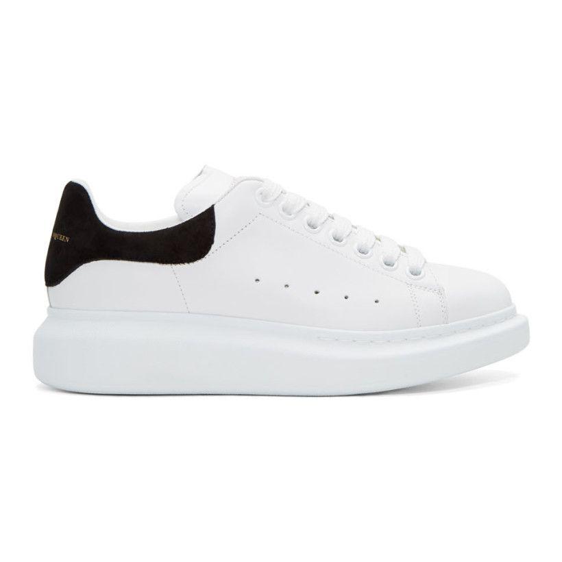 sesión pronto propietario  Alexander McQueen - White & Black Oversized Sneakers | Sneakers, Alexander  mcqueen, Womens sneakers