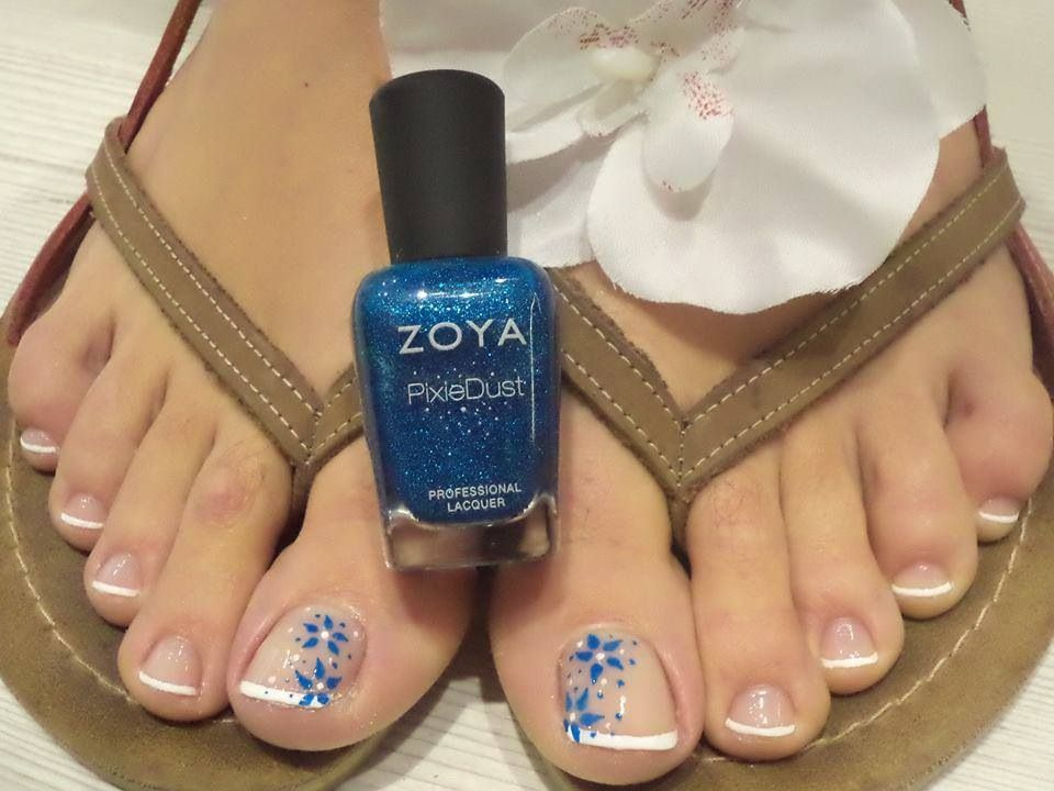 @Zoya Nail Polish liberty pixie dust accent #zoya #nailart #notd #nail #polish