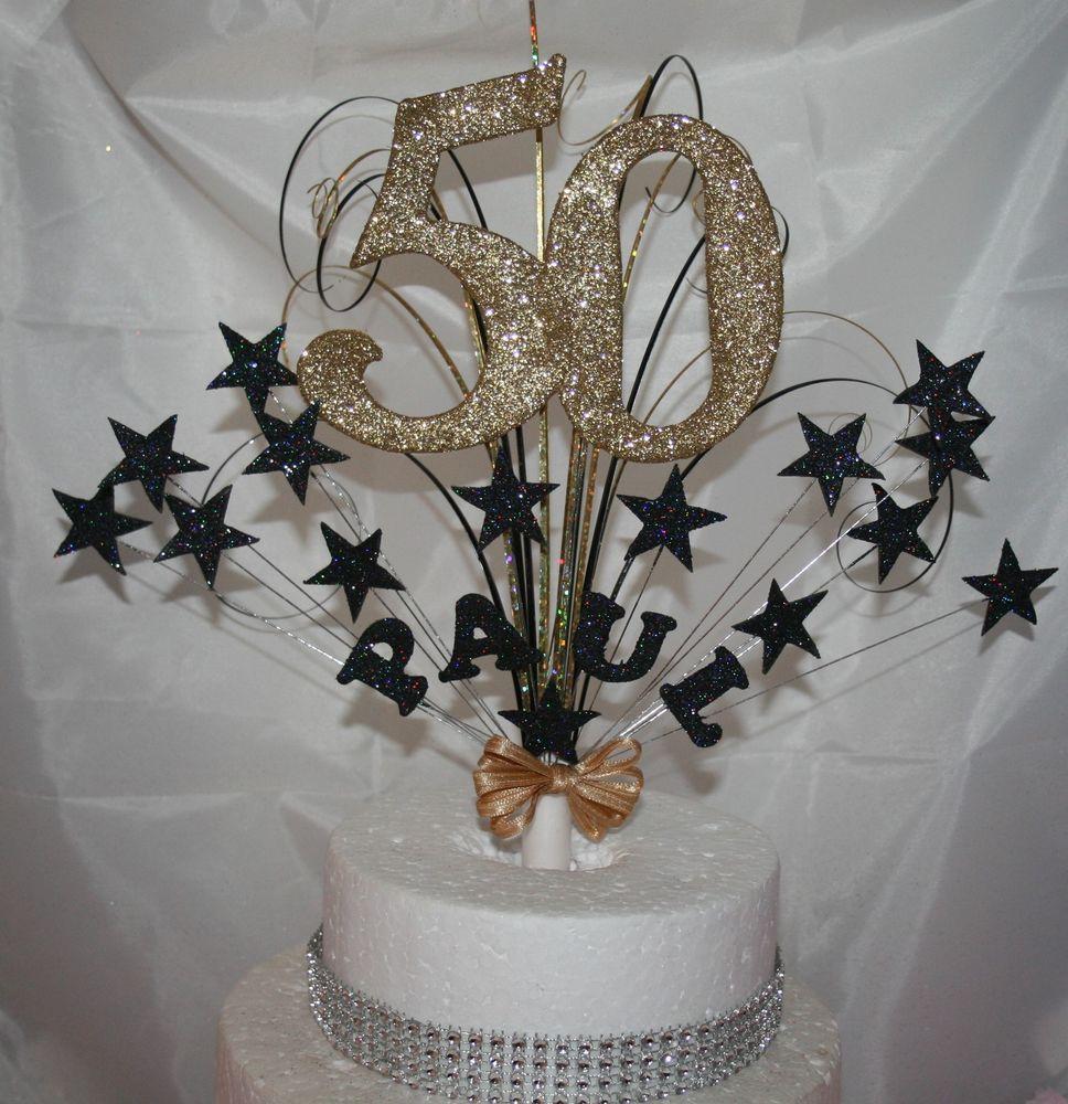 50th birthday cake toppers ebay