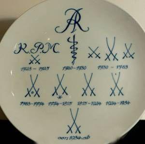 Marks meissen identification porcelain Instant Appraisal