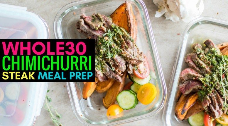 Whole30 Chimichurri Steak Meal Prep - Powered by @ultimaterecipe #whole30steakmarinade Whole30 Chimichurri Steak Meal Prep - Powered by @ultimaterecipe #potatowedgesselbermachen