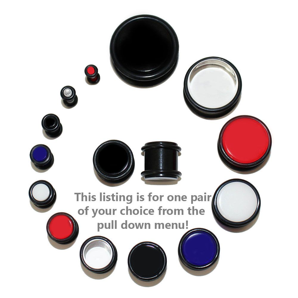 UV Sensitive O-Ring Plug - Lex and Lu Body Jewelry
