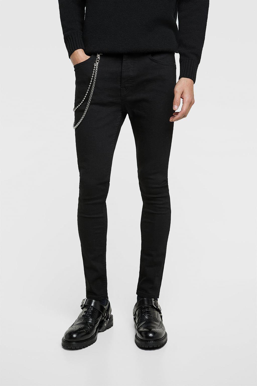 Ripped Denim Jacket En 2020 Moda Casual Hombre Pantalones De Hombre Vaqueros Hombre