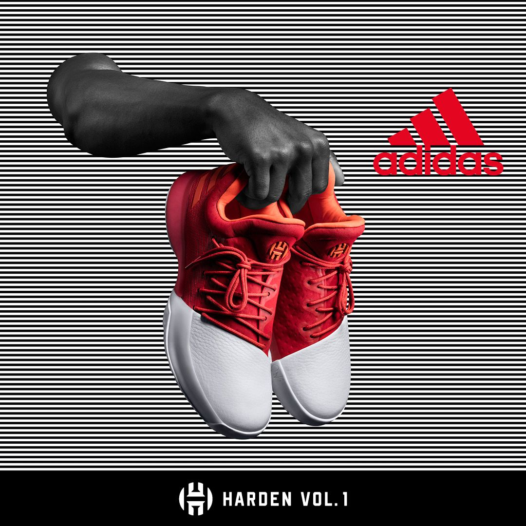 Wake the game up with the newest adidas Harden Vol. 1