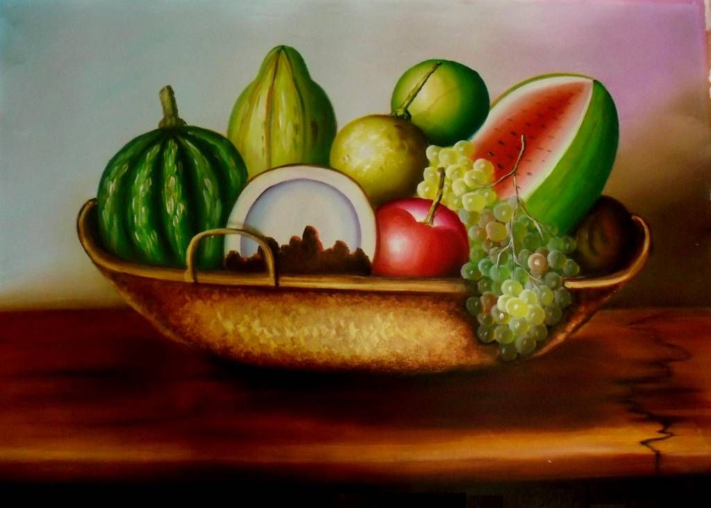 Bodegones con frutas y verduras google search ideas y for Pinturas bodegones modernos