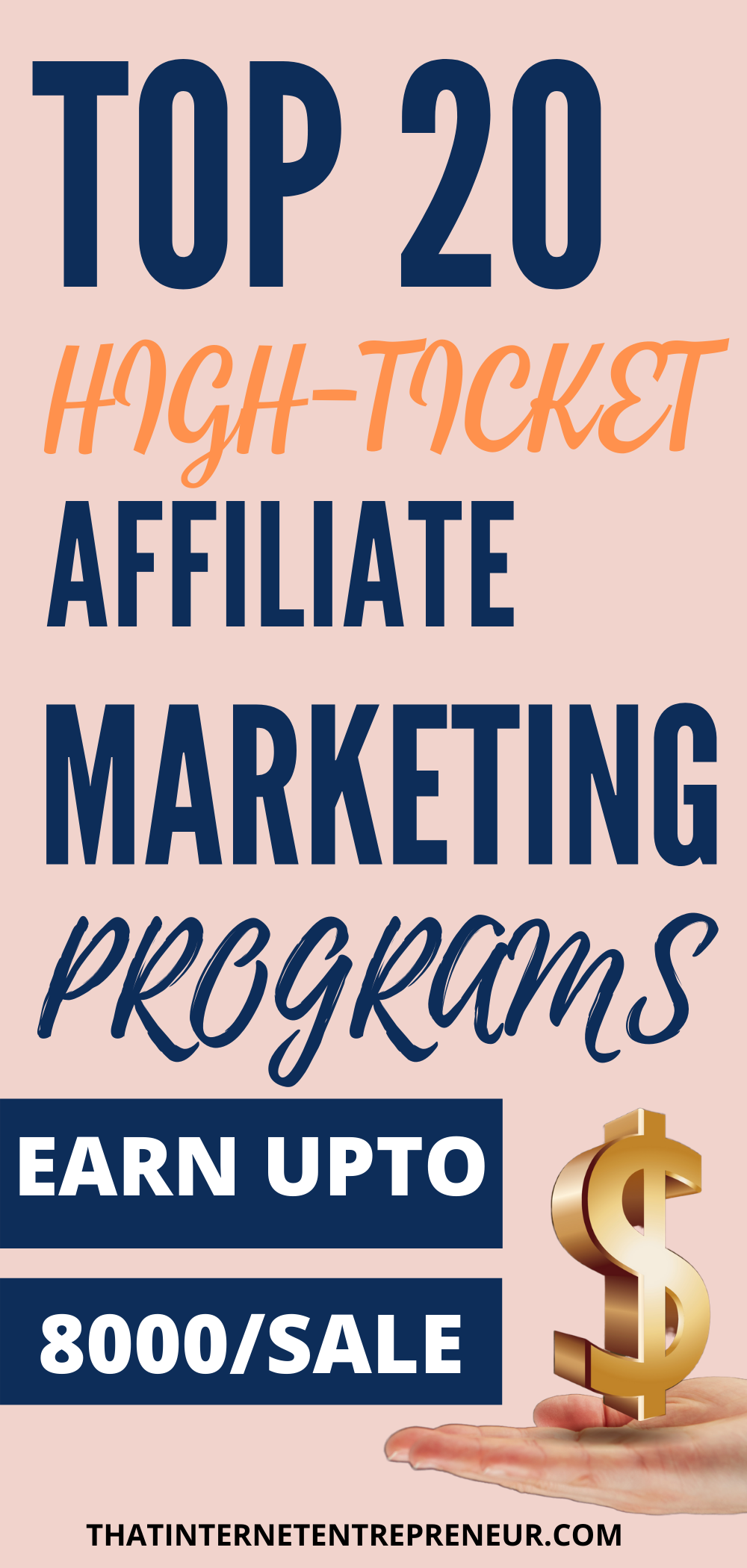 Top 20 HighTicket Affiliate Marketing Programs to Join in