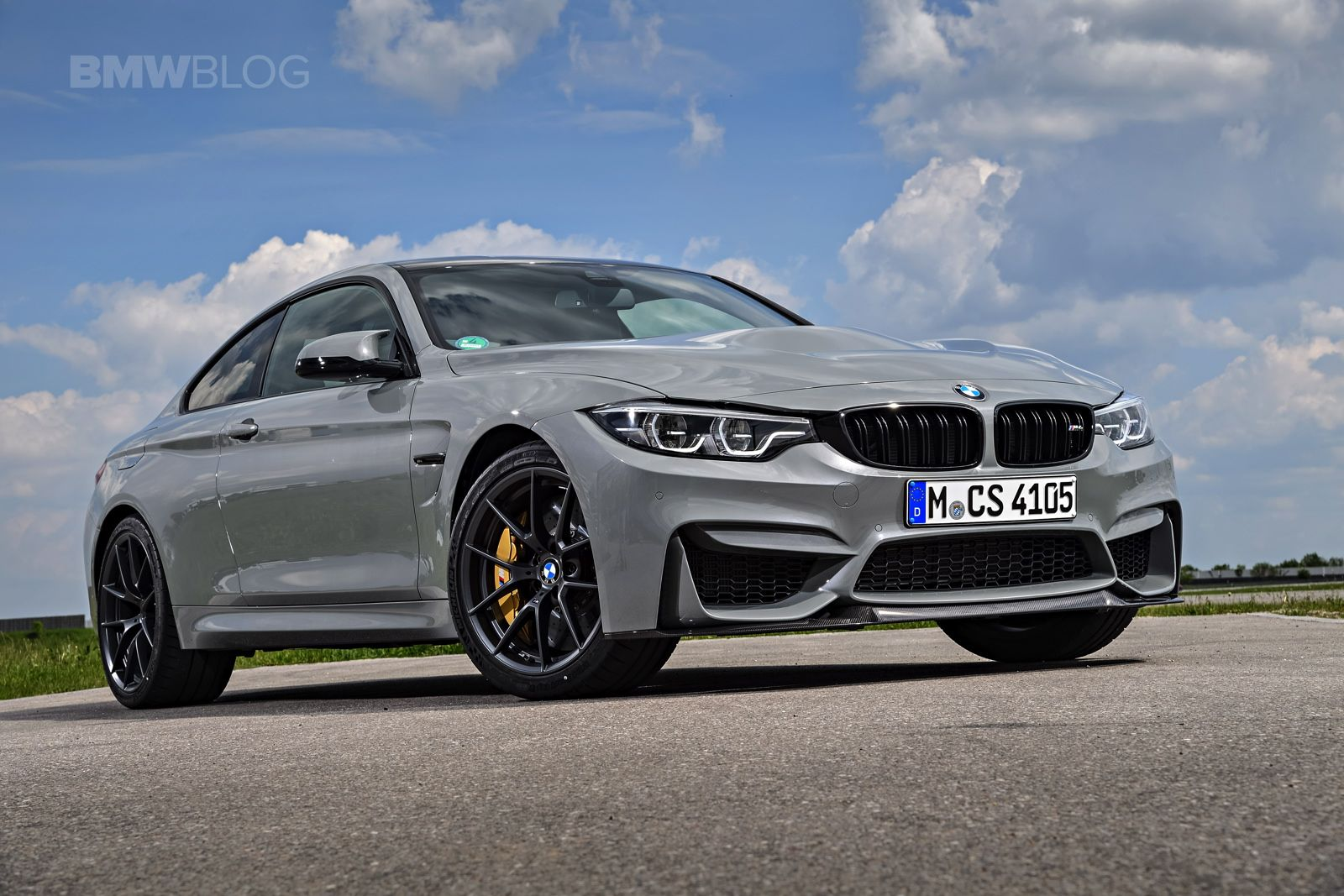 Bmw Shows Off The M4 Cs Lime Rock Grey Bmw M4 Bmw Bmw 4 Series