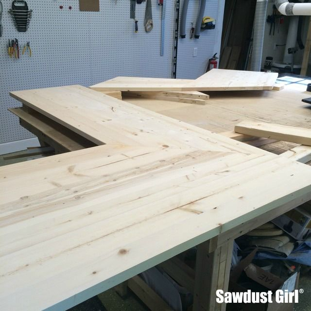 Wood Countertop With Mitered Corners Wood Countertops Diy Wood