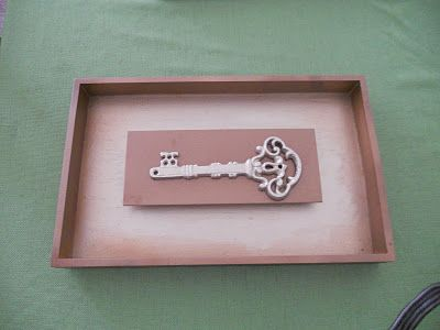 Diy Skeleton Key Wall Decor Beginning With A Thrift Plaque Great Gift For