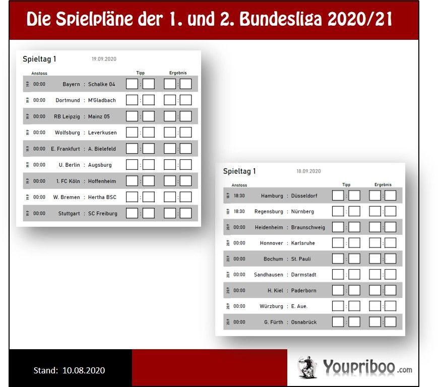 Spielplan Bundesliga 2021/17 Veröffentlichung
