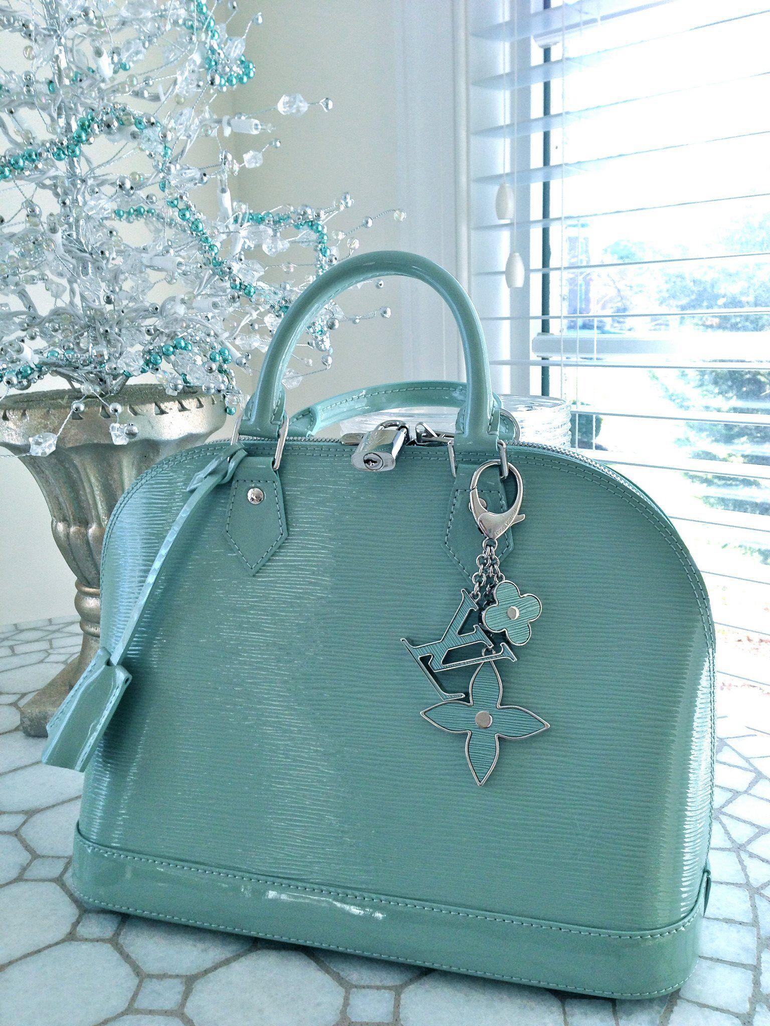 Louis Vuitton Tiffany Blue Alma Purses And Handbags Bags Designer Bags