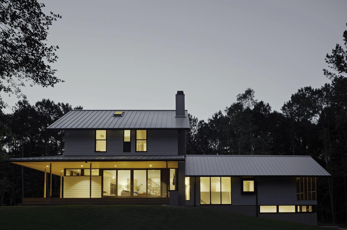 Pin By In Situ Studio On Farmhouse Farmhouse Plans House Exterior House Design