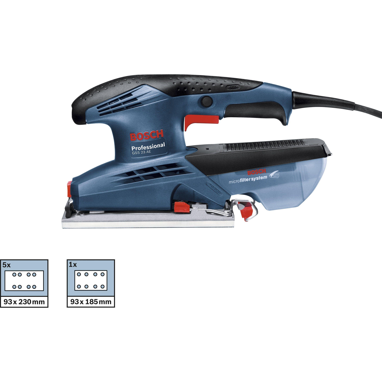 Ponceuse Vibrante Bosch Professional Gss23 190 W En 2019