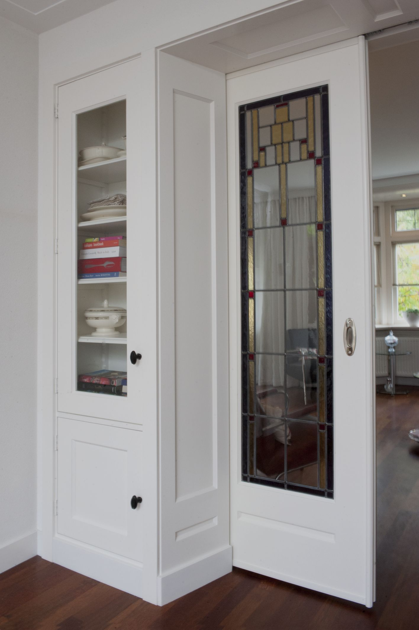 Pocket doors, pockets and closet on pinterest