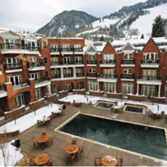 Aspen.  loved staying at this hotel.  It was an amazing Thanksgiving and an amazing year that followed....