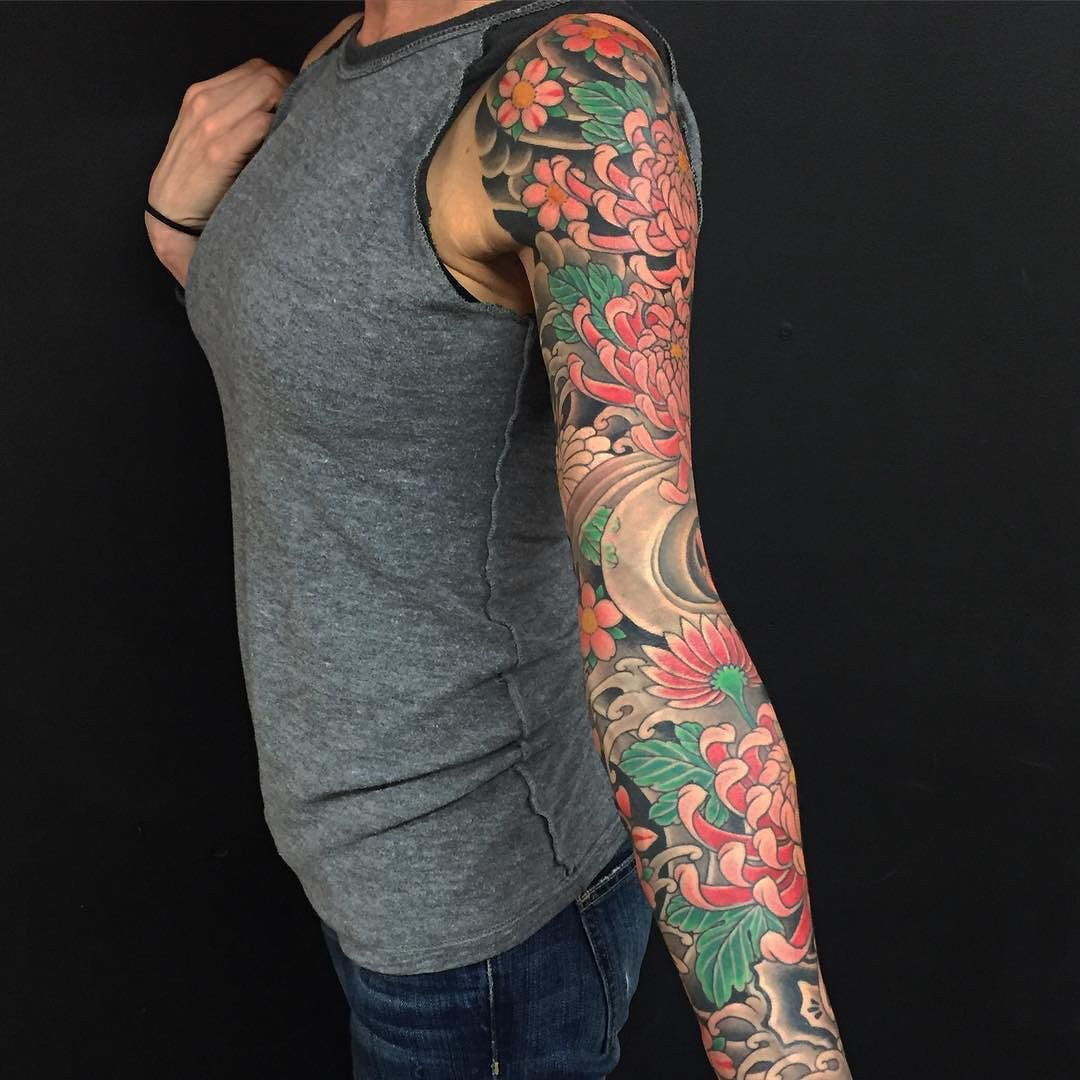 Pin By King Chang On Japanese Full Body Tattoo Sleeve Tattoos For Women Arm Sleeve Tattoos Sleeve Tattoos